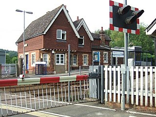 Chilworth railway station