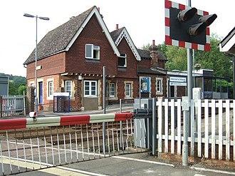 North Downs Line - Chilworth Railway Station