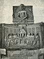 Chiostro di San Martino Monumento al giureconsulto Pier Canonici xilografia.jpg