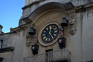 James Paty the Elder - Image: Christ Church clock Bristol