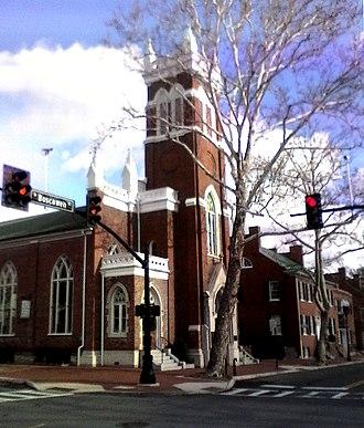 Alexander Balmain - Christ Episcopal Church as it looks today.