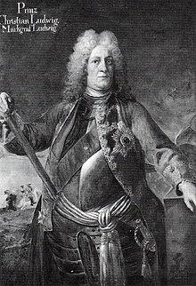 Christian Ludwig als Generalleutnant, Ölgemälde von Friedrich Wilhelm Weidemann, 1714. (Quelle: Wikimedia)