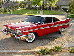 Christine: 1958 Plymouth Fury / Belvedere