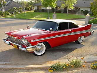 Plymouth Fury - Stunt car used in the movie Christine