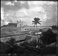 Church Izamal. San Antonio de Padua. Izamal, Yucatan, Mexico. Large arena with painted sign. 1899. (3795472641).jpg