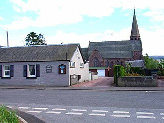 Ardler, Perth and Kinross - Image: Church and Tavern at Ardler geograph.org.uk 177155