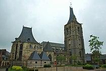 Church in Envermeu, Seine Maritime, France.jpg