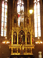 Church of Saints Peter and Paul (Vyšehrad) main altar2 MK.jpg