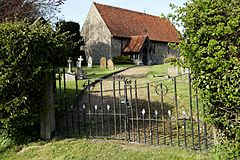 Church of St Mary Little Laver Essex England - from the southwest.jpg