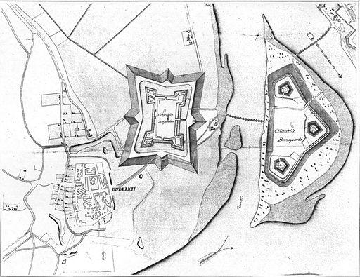 CidadelleNapoleon FortBlücher 1808