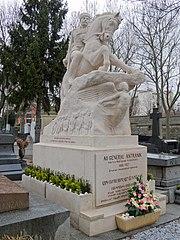 tombe d'Andranik Ozanian
