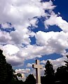 "Cincinnati - Spring Grove Cemetery & Arboretum ""Cross in Clouds"" (7207450786).jpg"