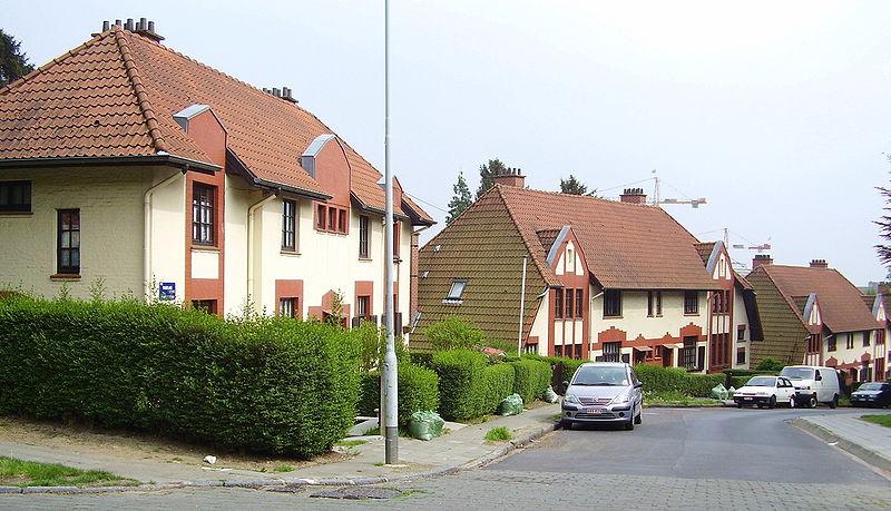 File cit de moortebeek 01 jpg wikimedia commons for Acheter une serre de jardin en belgique
