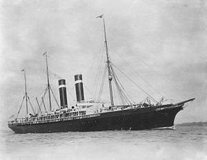 SS City of Paris (1888) - City of Paris later in her career after she was rebuilt and renamed Philadelphia