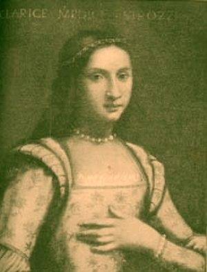 Clarice de' Medici - Portrait of Clarice de' Medici