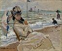 Claude Monet-Camille en la playa de Trouville.jpg