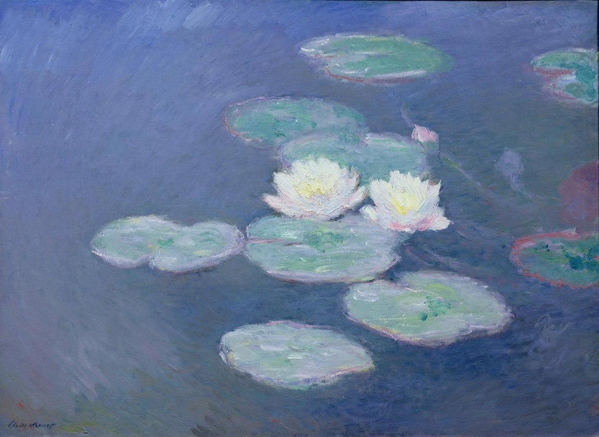 Claude Monet - Nymphéas, effet du soir W1504 - Musée Marmottan-Monet.jpg