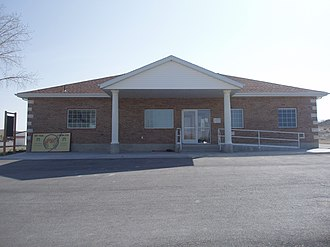 Clawson, Utah - Clawson's town hall