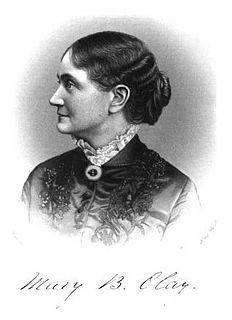 Mary Barr Clay American suffragist leader