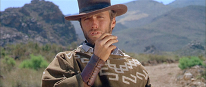 Sergio Leone - Clint Eastwood in Leone's For a Few Dollars More, the second part of the Dollars trilogy.