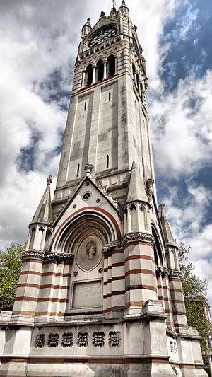 Gravesend - Image: Clocktower 01