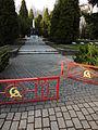 Cmentarz żołnierzy radzieckich Katowice ulice Kościuszki Górnośląska Piękna 13.JPG
