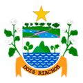 Coat of Arms of Dois Riachos - AL - Brazil.png