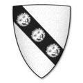 Coat of Arms of GWEIRYDD ap RHYS GOCH, Lord of Tal Ebolion, Anglesey.png