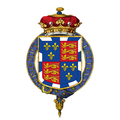 Coat of arms of Henry Somerset, 3rd Marquess of Worcester, KG.png