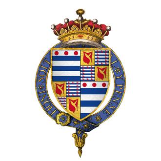 Richard Grey, 3rd Earl of Kent - Arms of Sir Richard Grey, 3rd Earl of Kent, KG