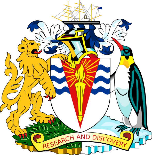 Archivo:Coat of arms of the British Antarctic Territory.svg