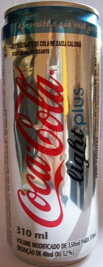 Diet Coke Plus - Brazilian Coca-Cola Light Plus
