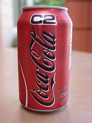 Coca-Cola C2 - Can of Coca-Cola C2