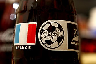 1998 FIFA World Cup - Coca-Cola was one of the sponsors of FIFA World Cup 1998.