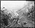 Cofferdam discharge pipeline under construction at site of Masonry Dam, March 26, 1912 (SPWS 74).jpg