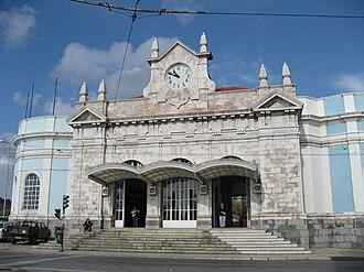 Coimbra - Coimbra-A railway station.