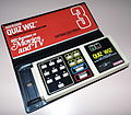 Coleco Quiz Wiz, with cartridge 3 (Movies And TV), Model 2060, Circa 1980 (Electronic Handheld Game).jpg