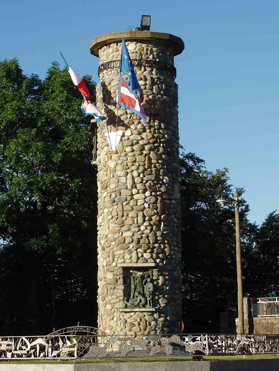 Colle del Lys (monumento ai partigiani)