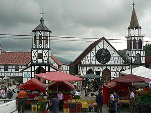 Colonia Tovar - Iglesia de la Colonia