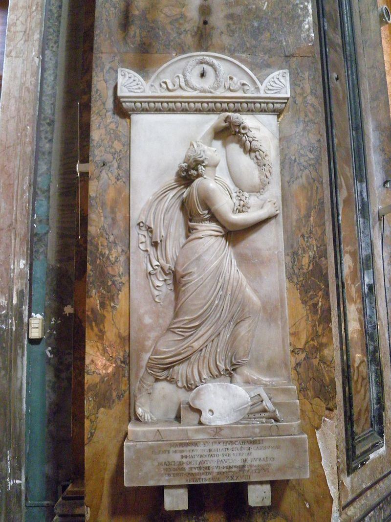 Colonna - s Andrea delle Fratte tomba Marianna Caffarelli del Bufalo O9250035.JPG