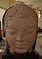 Colossal Head of Jina - Gupta Period - Kankali Mound - ACCN 00-B-61 - Government Museum - Mathura 2013-02-23 5452.JPG
