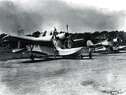 Columbia XJL-1 and Grumman J2F c1946