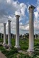 Columns in Roman gymnasium, Salamis, Northern Cyprus 03.jpg
