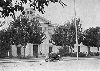 Colusa, California - Colusa County Courthouse in 1908