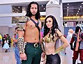 Comikaze 2015 - Aquaman & Mera (22494377459).jpg