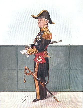 Compton Domvile (Royal Navy officer) - Admiral Sir Compton Domvile in Vanity Fair of London, 1906, by Sir Leslie Ward