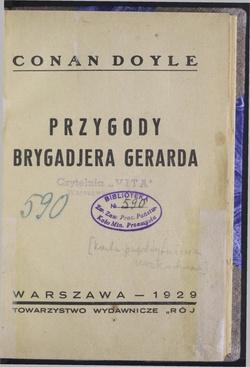 Przygody Brygadjera Gerardacałość Wikiźródła Wolna Biblioteka