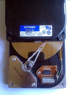 Conner Peripherals - Conner Peripherals HDD with 213 MB capacity