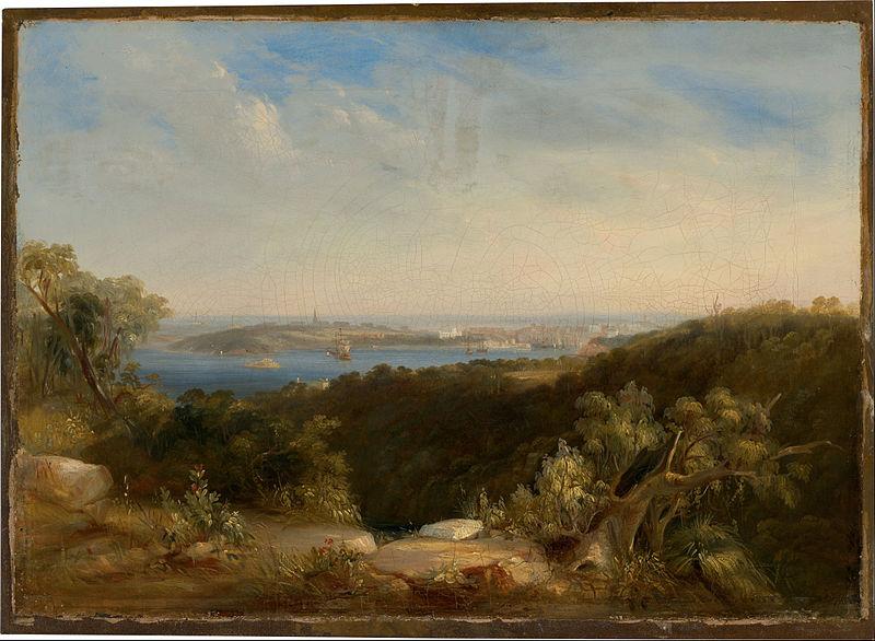 File:Conrad Martens - View of Sydney Harbour showing Sydney Cove - Google Art Project.jpg