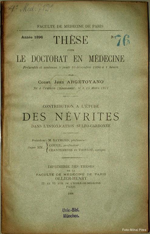 medicine thesis